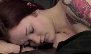 Teen Babysitter pleasured while she sleeps