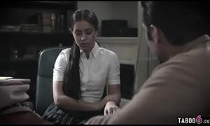 School shrink bangs troubled latin chick schoolgirl teen