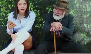 RealityKings - Teens Love Huge Cocks - (Abella Danger) - Bus Bench Creepin