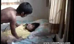 Indonesian legal age teenager sandra home made