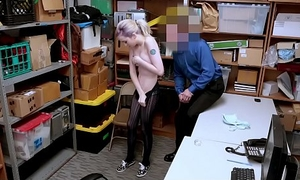 ShopLyfter - Shoplifting Teen Complies With Security Officer With Her Tight Pussy
