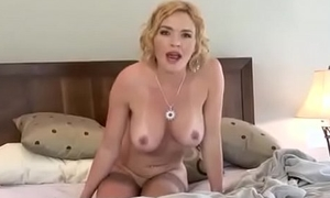 Lexi Belle Warms Up Her Hairy Pussy With A Sybian