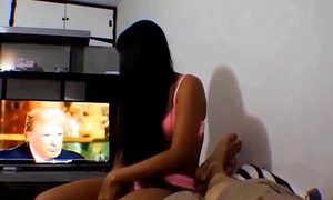 HD Donald Trump watches Thai teen Heather Deep give deepthroat and get creampie NEW