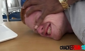 Young ginger pounded from behind