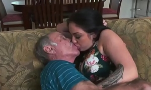 Girl hand smother horny old man masturbate Frannkie'_s a quick learner!