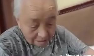Creampie old granny in nursing home