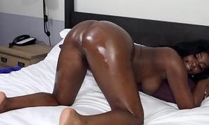 Nerdy Black Cutie Krista Fox Gets Nailed