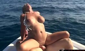Mature Wife Brandi Jaimes Cheating On a Boat