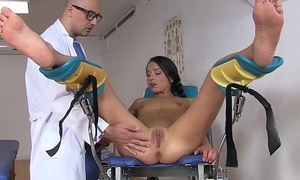 Cutie Nataly Gold Gets Fucked By Gynecologist